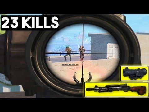 WHY I LOVE DP-28 + 6x | 23 KILLS SOLO vs SQUAD | PUBG Mobile 🐼