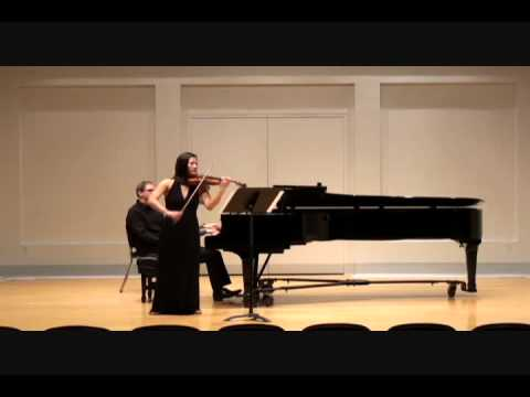Messiaen Theme and Variation for Violin and Piano
