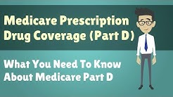 Medicare Prescription Drug Coverage (Part D) - What You Need To Know About Medicare Part D
