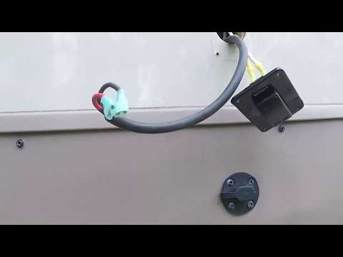 Lippert electric stabilizer switch replacement - YouTube on