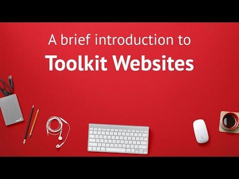 Introduction to Toolkit Websites - bespoke web designers