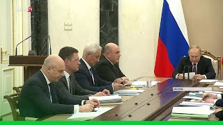 Владимир Путин поручил запустить новый инвестиционный цикл