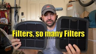 Air and Carbon Filters and how to change them. This is such an easy...
