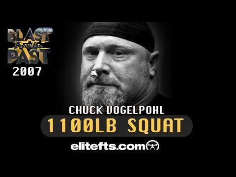Chuck Vogelpohl 1100lb Squat | Elitefts.com