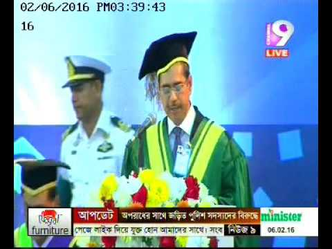 5th Convocation video of Southeast University 6th February 2016 -CNL 9