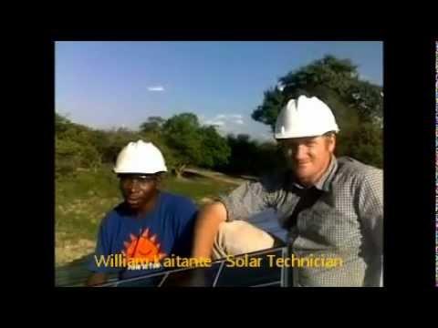 Solar school installation in Zambia - interview