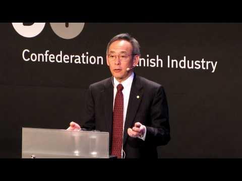 United States Secretary of Energy Steven Chu speaking at Bright Green in Copenhagen. Part 3