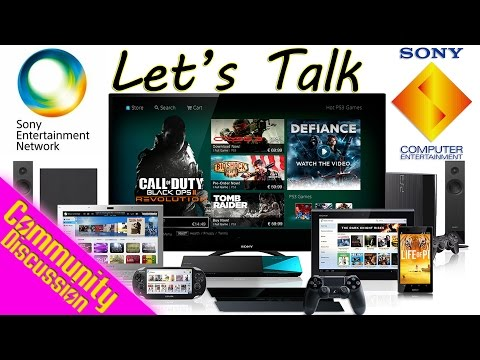 Let's Talk Sony Computer Entertainment Becoming Sony Interactive Entertainment