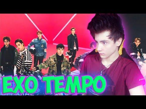EXO 엑소 'Tempo' MV Реакция   K-pop группа EXO   Реакция на EXO Tempo   Кей поп EXO   Tempo Реакция