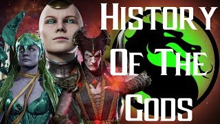 History Of The Titans, Elder God And One Being! Mortal Kombat 11