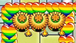 Late Game Regrow Rainbow Rush - It Actually Worked! (Bloons TD Battles)