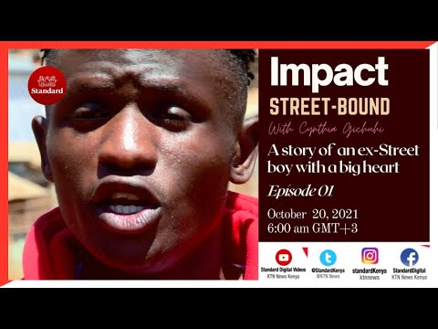 A story of one ex-street boy with a big heart   Impact Street-Bound