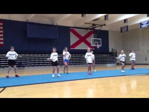 how to make a cheer dance routine
