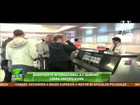 Aeropuerto Internacional Augusto C. Sandino ya fue certificado