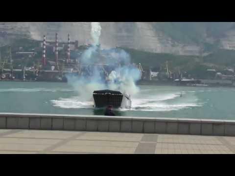 Высадка морского десанта. День ВМФ в Новороссийске 2019
