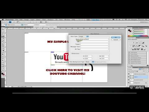 Slice And Export Simple HTML Website [Photoshop Tutorial]
