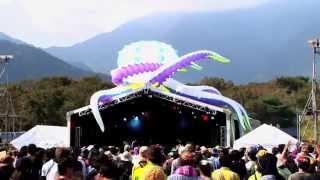 富士山が見守る朝霧高原で、音楽に食、キャンプを楽しむフェスティバル...