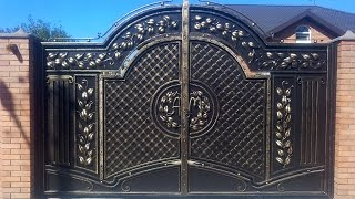Удивительные кованые ворота(, 2016-02-17T06:44:31.000Z)