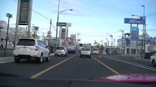 レガシィ車載 ヨドバシカメラ仙台から国道45号線を多賀城市近くまで走行