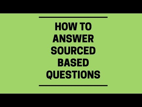 How To Answer Source Questions - A-Level History