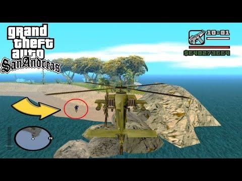 La Isla Oculta que Nunca Existio en GTA San Andreas