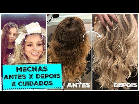 VLOG: MECHAS ANTES X DEPOIS E CUIDADOS + FESTA DO ARTHUR