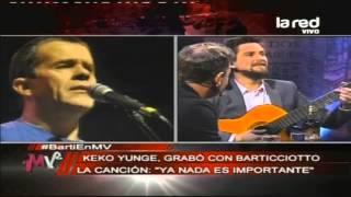 """Marcelo Barticciotto y Keko Yungue recuerdan """"Ya nada es importante"""""""