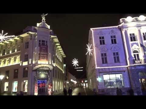 Festive December in Ljubljana