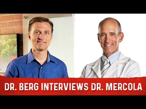 Dr. Berg Collaborates with Dr. Mercola on EMFs, Fasting and other Stuff