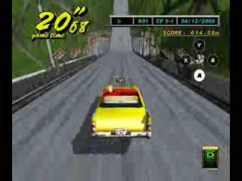Crazy Taxi 2 Crazy Jump (dreamcast)