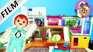 Film Playmobil en français  Nouvel étage dans la villa de luxe   La nouvelle chambre d'Emma & Julian