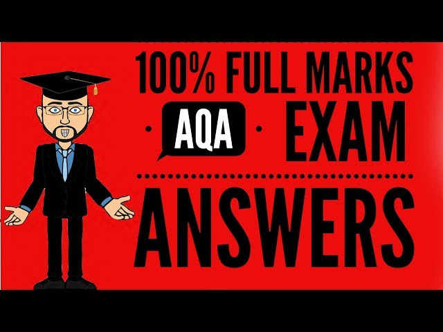 100% Full Marks Real Exam Answer 6 (no spoilers!)