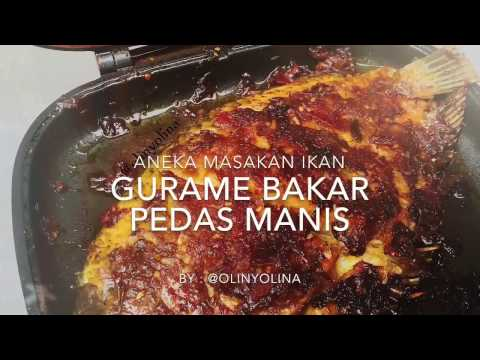 Resep Cara Membuat Ikan Gurame Bakar Kecap Pedas  by @olinyolina