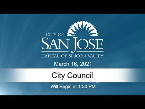 MAR 16, 2021 | City Council, Afternoon Session