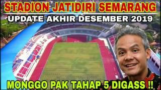 Stadion Jatidiri akhir Desember 2019, sepertinya Tahun 2020 belum bisa dipakai Lurr..