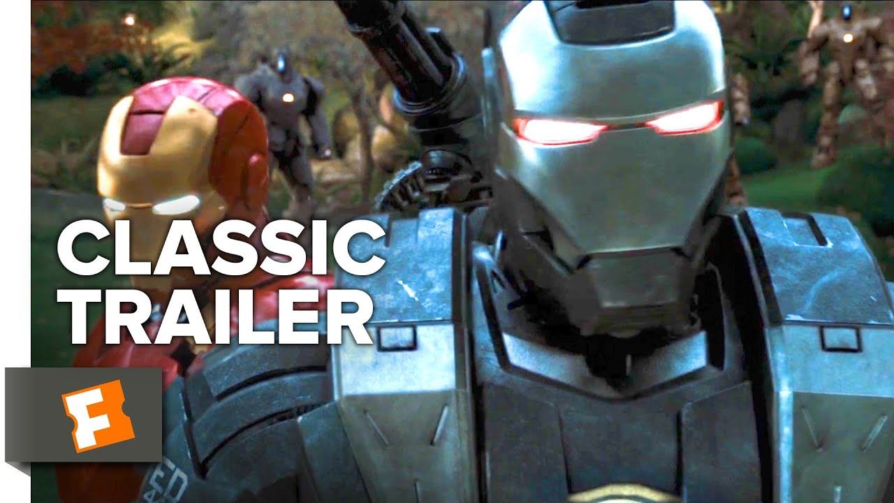 Iron Man 2 2010 Trailer 1 Movieclips Classic Trailers Youtube
