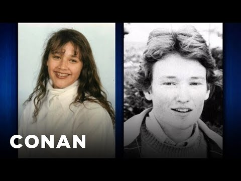 Rashida Jones & Conan Compare Traumatic Childhood Photos  CONAN on TBS