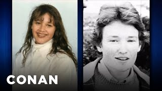 Rashida Jones & Conan Compare Traumatic Childhood Photos - CONAN on TBS