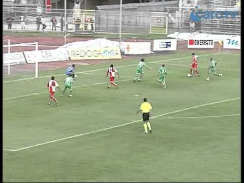 Icaro TV. AC Rimini-Real Rimini 2-0, i gol di Baldazzi e Onescu