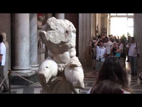 Vatican Musei Belvedere torso whole