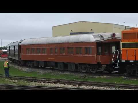 ELS 300 Escanaba and Lake Superior passenger train
