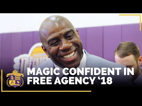 Magic Johnson Very Confident In Lakers Free Agency '18