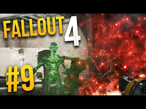 Fallout 4 Gameplay - Part 9 - GLOWING GHOULS ★ Let's Play Fallout 4!
