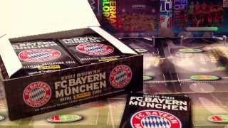 PREMIERE PL YT: BOX FC BAYERN MUNCHEN PANINI TRADING CARDS