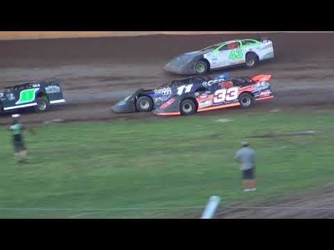 USRA Late Model Feature at Cedar Lake Speedway 07/14/2018
