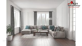 Ashley Bardarson 5 Piece Sectional With Chaise (APK-64403-L5) | KEY Home