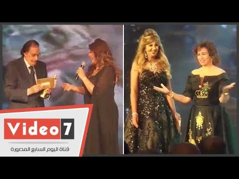 تكريم عزت العلايلى وإلهام شاهين بحفل أوسكار السينما العربية  - 02:21-2017 / 10 / 21