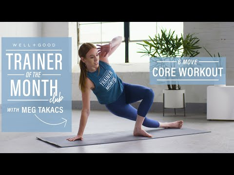 6 Core Strength Exercises I Trainer of the Month Club