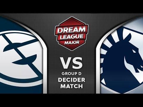 EG vs Liquid Decider Leipzig Major 2020 DreamLeague 13 Highlights Dota 2