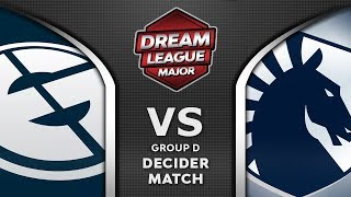 EG vs Liquid Decider Leipzig Major 2020 DreamLeague 13 Highlights Dota 2